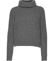 benette knit turtleneck polotröja grå andiata