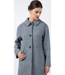 płaszcz oversize z obniżoną linia ramion