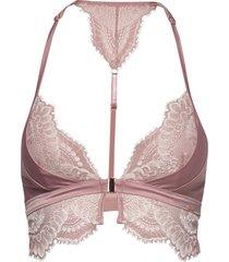 allegra bralette lingerie bras & tops bra without wire rosa hunkemöller