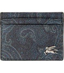 etro credit card holder made