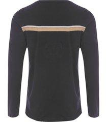 t-shirt masculina color riva - preto