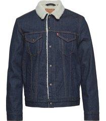 type 3 sherpa trucker rockridg jeansjack denimjack blauw levi´s men