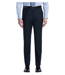 signature collection traditional fit pleated front dress pants by jos. a. bank