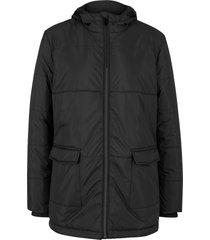 giacca con cappuccio e tasche (nero) - bpc bonprix collection