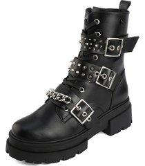 botas de moda estilo urbano  rock star caña baja anuwa valencia