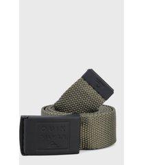 cinturón verde-negro quiksilver cincha principal