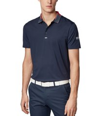 boss men's pauletch pro sl slim-fit golf polo shirt