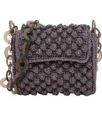 m missoni boucle crossbody bag with chain