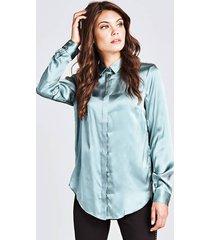 klasyczna jedwabna koszula