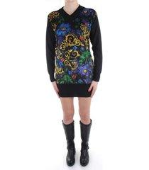 korte jurk versace jeans couture b4 hzb812 50480