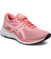 gel-excite 6 twist shoes sport shoes running shoes rosa asics