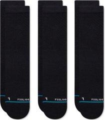 stance men's 3-pk. prime crew socks