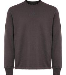belstaff reydon sweatshirt - dark shale 71130485-shl