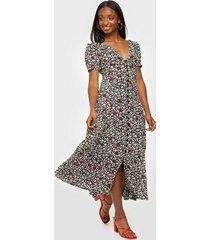polo ralph lauren printed short sleeve dress maxiklänningar