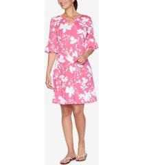 ruby rd. plus size drs bar wildflower dress