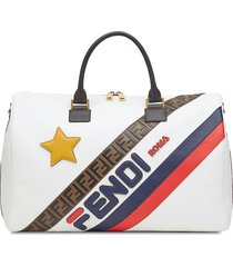 fendi mania panelled travel bag