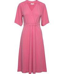 abeliw dress knälång klänning rosa inwear