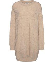 onldora l/s pullover knt stickad tröja grå only