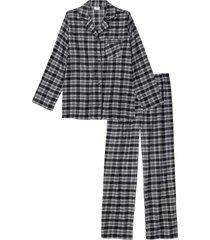 pigiama di flanella (nero) - bpc bonprix collection