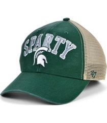 '47 brand michigan state spartans outland trucker cap