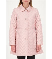 kate spade new york skirted quilted coat