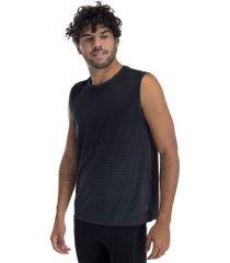camiseta regata oxer rillo - masculina - cinza escuro