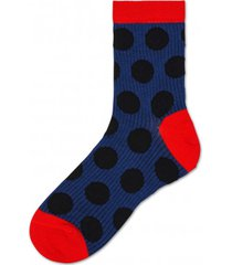 skarpetki viktoria ankle sock navy dot