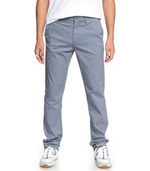 pantalon hombre worker 32 chinos azul dc