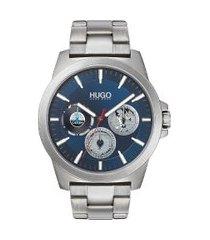 relógio hugo boss masculino aço - 1530131