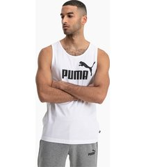 essentials tanktop voor heren, wit, maat m | puma