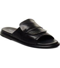 riad shoes summer shoes flat sandals svart notabene