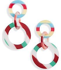 women's lele sadoughi link drop earrings