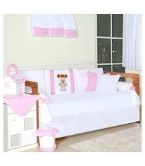quarto completo padroeira baby boneca bia rosa