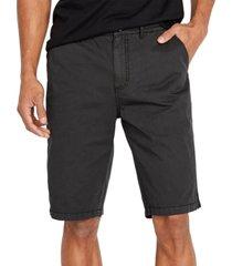 buffalo david bitton men's haplay woven shorts