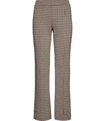 pontaspw pa pantalon met rechte pijpen bruin part two