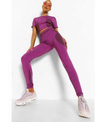 ofcl naadloze corrigerende leggings, purple