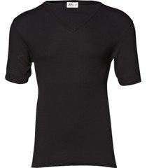 original v-neck tee t-shirts short-sleeved svart jbs