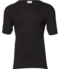 original v-neck tee t-shirts short-sleeved svart jbs