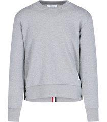 tricolor grosgrain sweatshirt