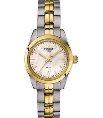 women's tissot pr 100 lady small bracelet watch, 25mm