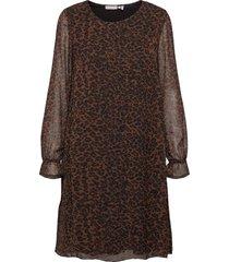 frmaleo 1 dress kort klänning brun fransa