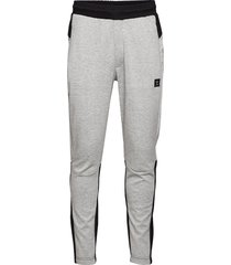 hmltropper tapered pants sweatpants mjukisbyxor grå hummel