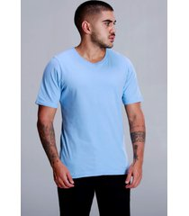 camiseta basica oceano - azul - masculino - dafiti