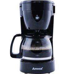 cafeteira elétrica amvox acf2272n preta 14 xícaras - 220v