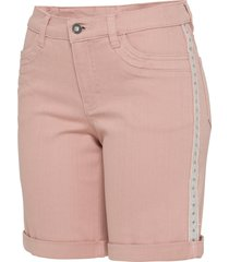 shorts di jeans decorati (rosa) - bodyflirt