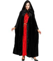 buyseasons full length black cape adult costume