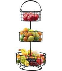sorbus 3 tier fruit basket