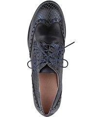 skor med platåsula klingel mörkblå