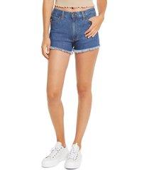 women's wrangler high waist cutoff denim shorts