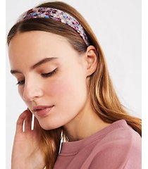 lou & grey machete thick headband in raspberry